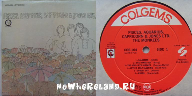 MONKEES Pisces, Aquarius, Capricorn & Jones Ltd.