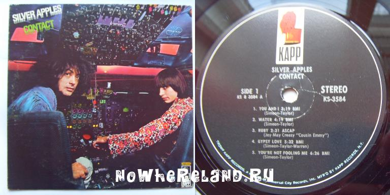 SILVER APPLES Contact