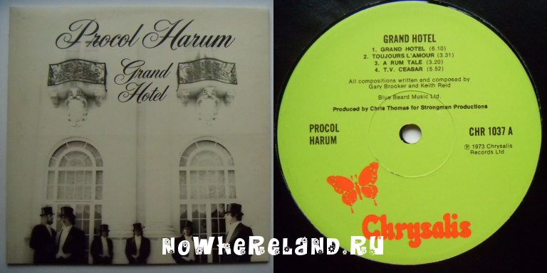 PROCOL HARUM Grand Hotel