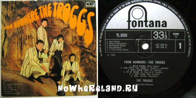 TROGGS From Nowhere
