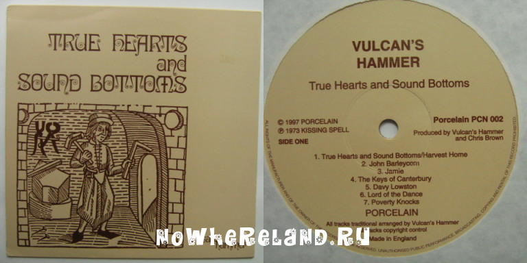 VULCAN'S HAMMER True Hearts and Sound Bottoms