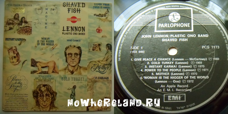 LENNON,John Shaved Fish