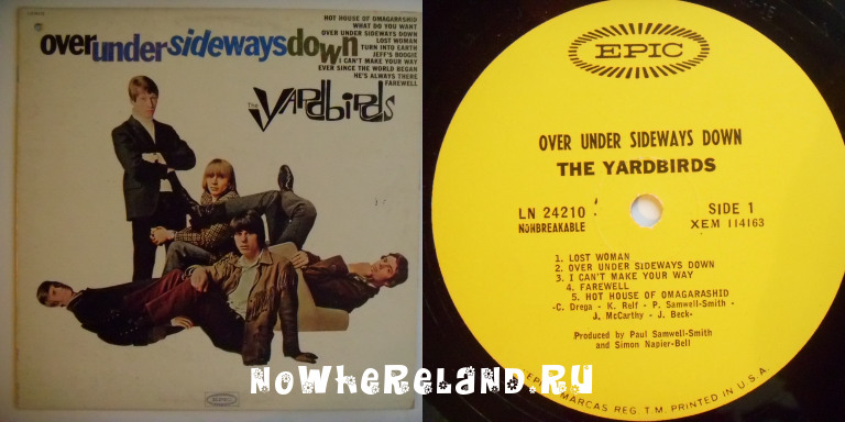 YARDBIRDS,The Over under sideways down