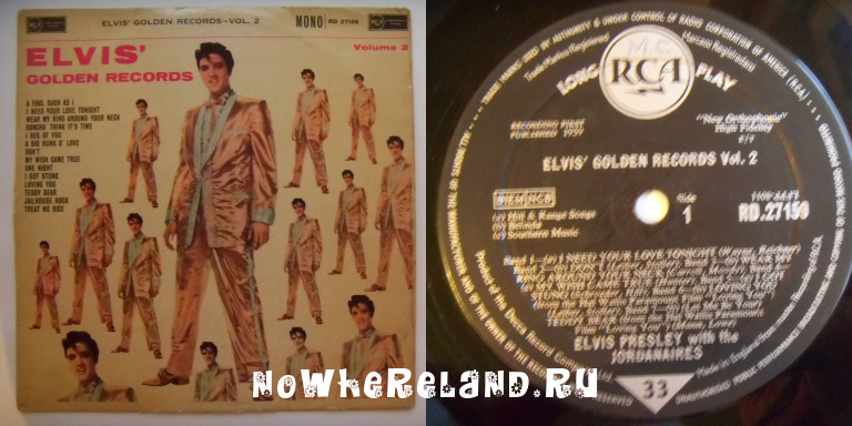 PRESLEY,Elvis Golden Records Vol.2