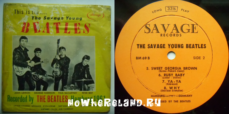 BEATLES Savage Young beatles