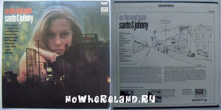SANTO & JOHNNY On the road again