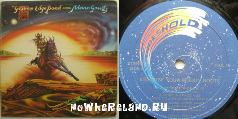 Graeme EDGE BAND featuring Adrian GURVITZ Kick off your muddy boots