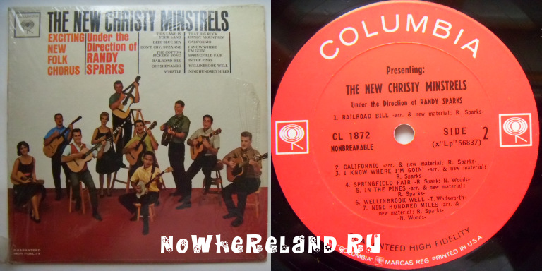 NEW CHRISTY MINSTRELS Exciting New Folk Chorus
