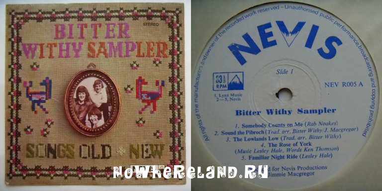 BITTER WITHY SAMPLER Songs Old & New