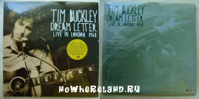 BUCKLEY,Tim Dream Letter
