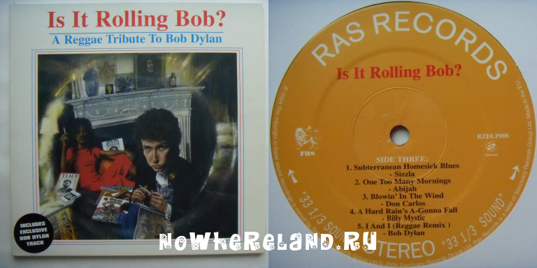 JC LODGE, SIZZLA, APPLE GABRIEL etc. Is It Rolling Bob? A reggae Tribute To Bob Dylan