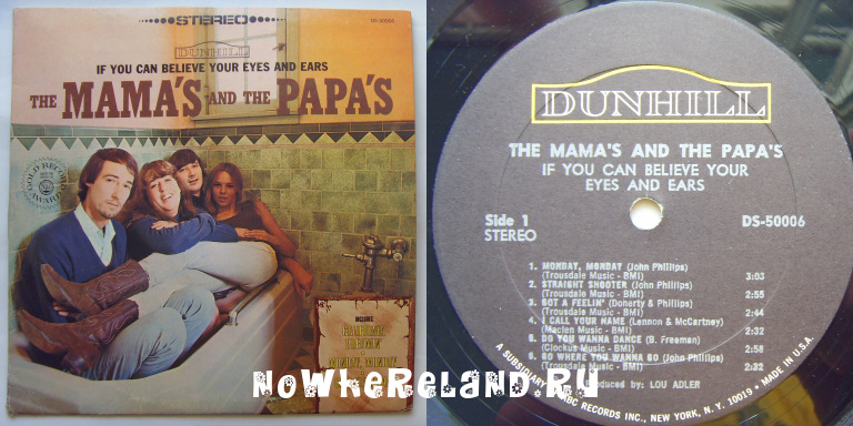 THE MAMAS & THE PAPAS If You Can Believe Your Eyes And Ears