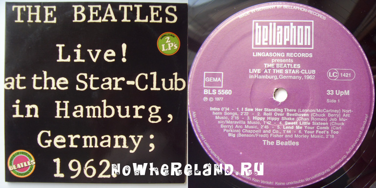 BEATLES Live! at the Star-Club in Hamburg, Germany; 1962