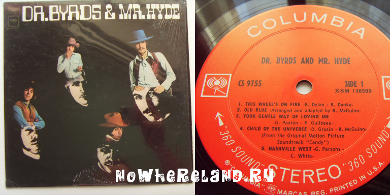 BYRDS Dr.Byrds & Mr.Hyde