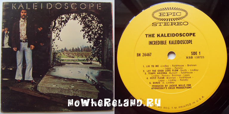 KALEIDOSCOPE,The Incredible Kaledoscope
