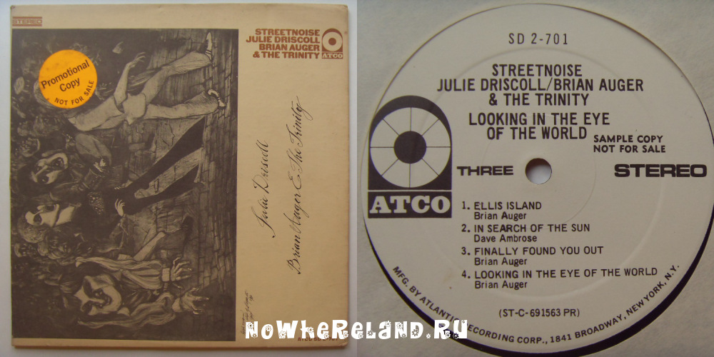 DRISCOLL,Julie, Brian AUGER AND THE TRINITY Streetnoise
