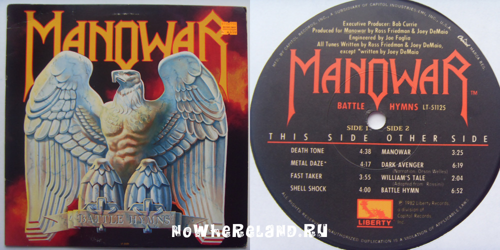MANOWAR Battle Hymns