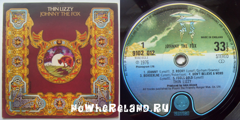 THIN LIZZY Johnny The Fox