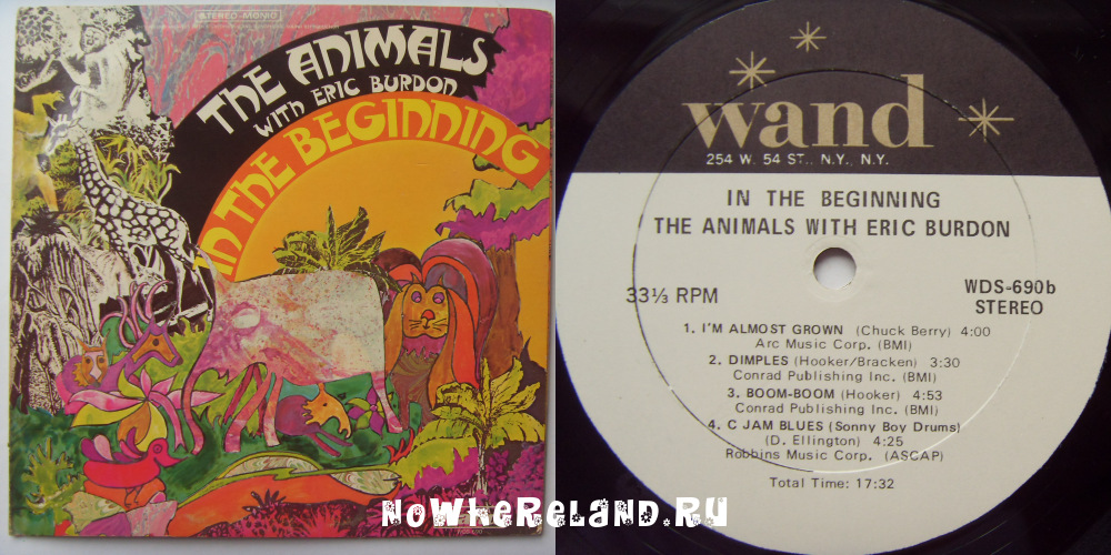 ANIMALS WITH Eric BURDON In The Beginning