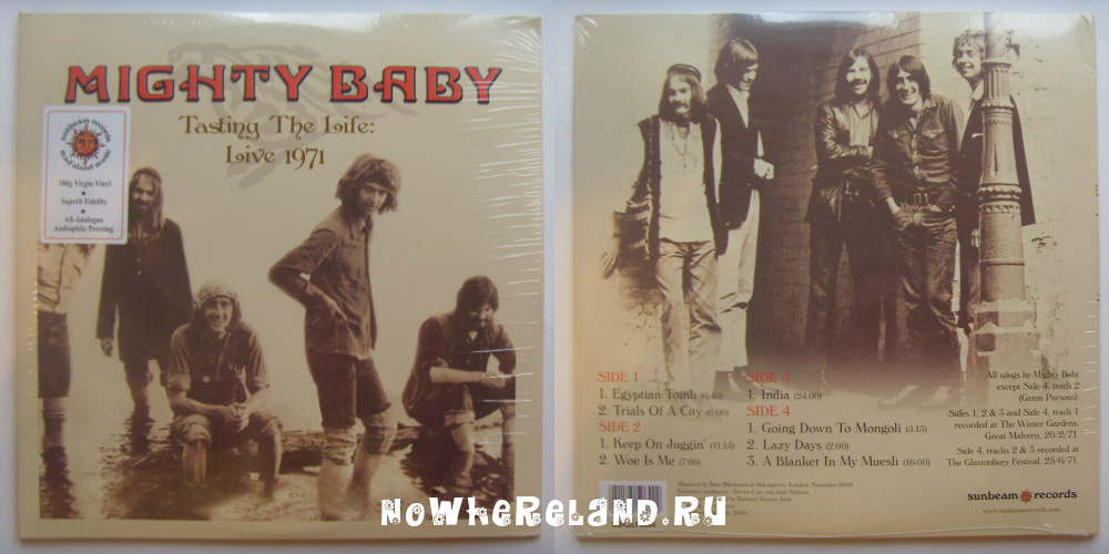 MIGHTY BABY Testing The Life: Live 1971