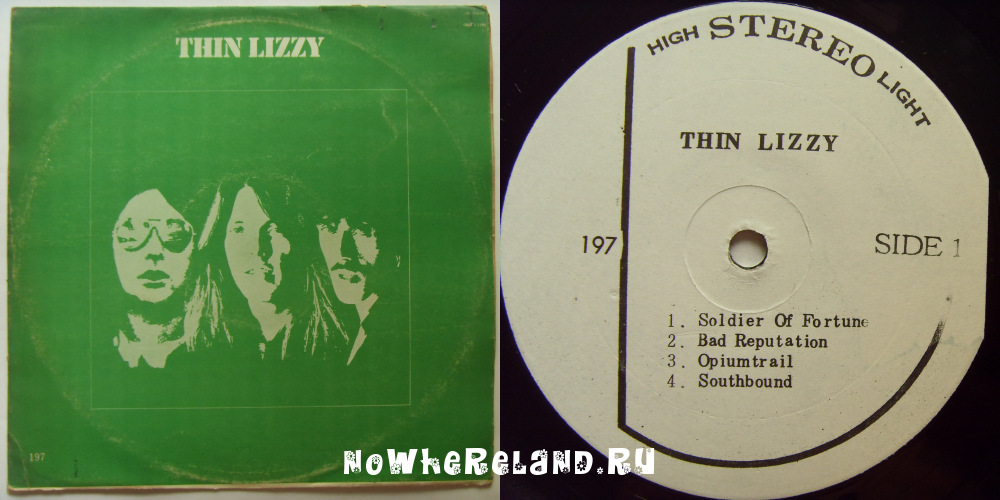 THIN LIZZY Thin Lizzy (Bad Reputation)