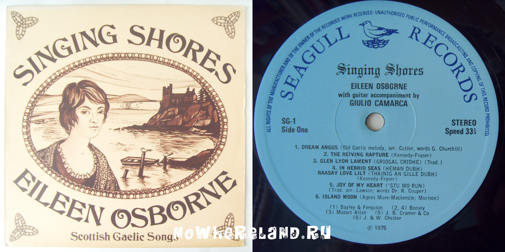 OSBORNE,Eileen Singing Shores — Scottish Gaelic Songs