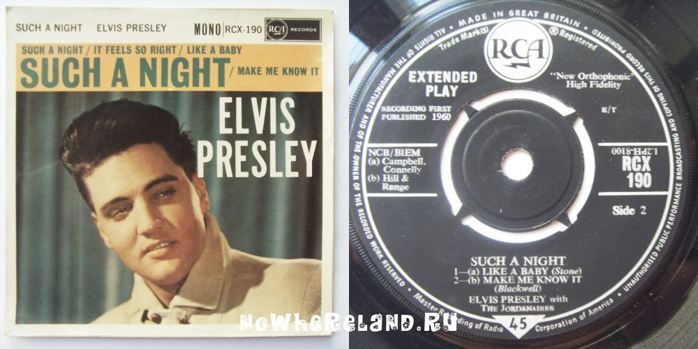 PRESLEY,Elvis Such a night