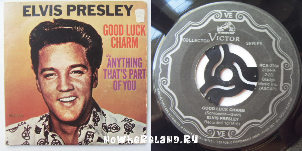 PRESLEY,Elvis Good luck charm
