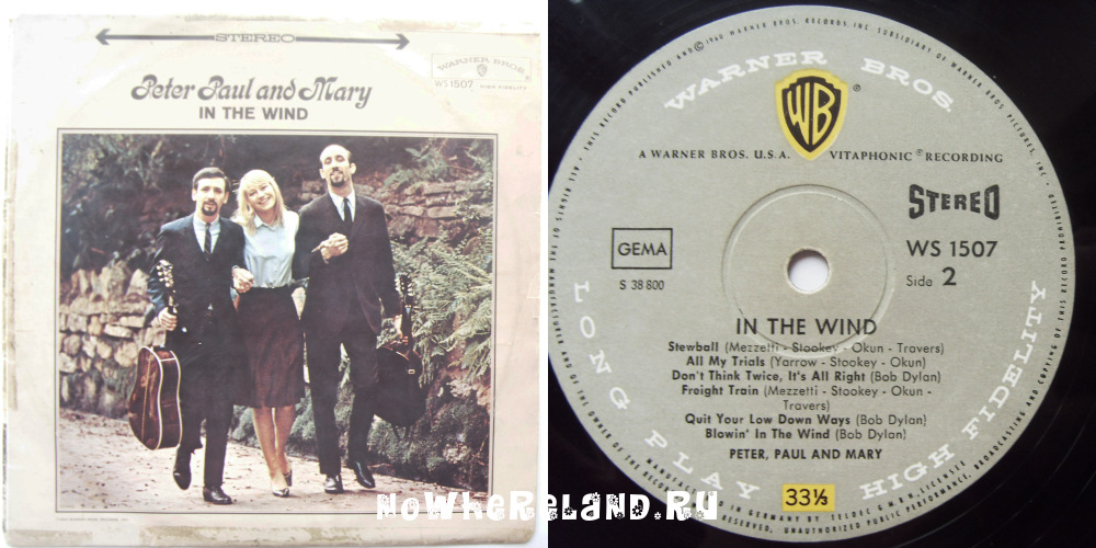 peter paul and mary blowin in the wind essay Paul & mary: live in japan, 1967 by paul and mary blowin' in the wind (remastered) peter, paul and mary the 15 page booklet contains an informative essay.