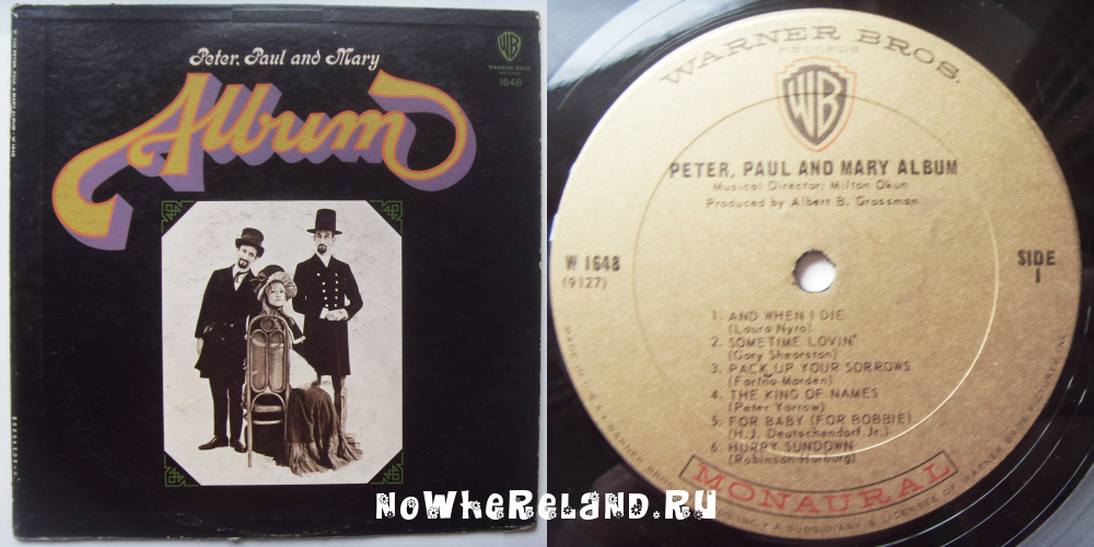 PETER, PAUL AND MARY Album