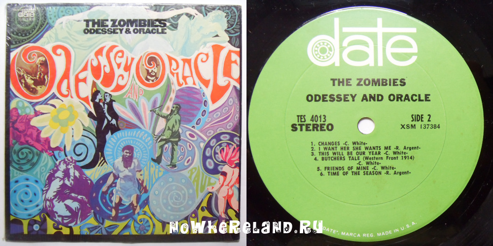 THE ZOMBIES Odessey & Oracle