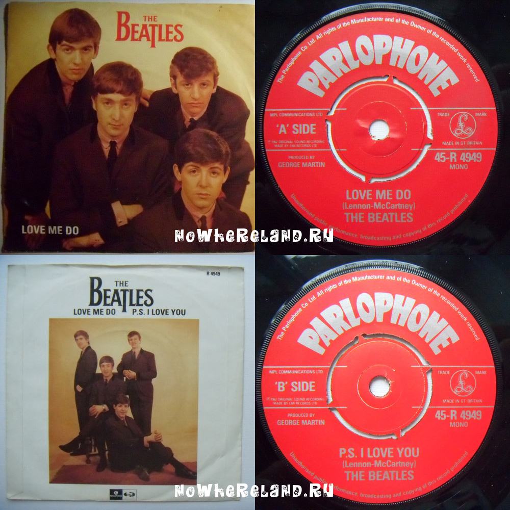 BEATLES Love me do / P.S. I love you