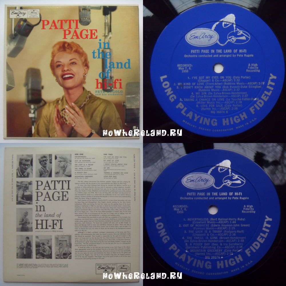 PAGE,Patti Patti Page in the land of hi-fi
