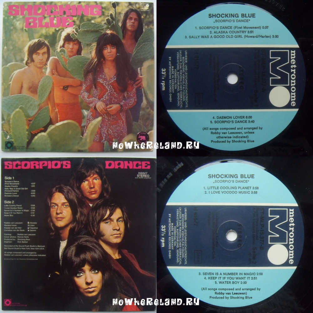 SHOCKING BLUE Scorpio's Dance