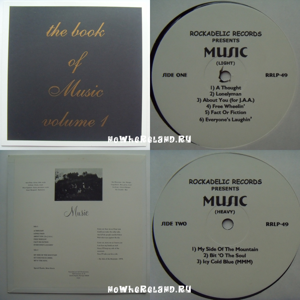 MUSIC The book of Music volume 1